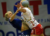 Håndball , 18. april 2007 , damer , Larvik - Nordstrand , Randi Gustad , Nordstrand mot Marie Døvle , Larvik