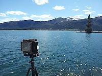 Fotografering av Slinningsbålet i Ålesund.<br /> Foto: Svein Ove Ekornesvåg
