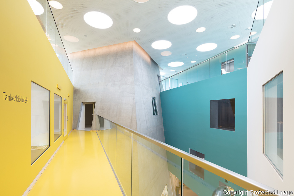 Ku.Be House of Culture and Movement, Copenhagen, Denmark. Architects: MVRDV, Adept. Engineers: Søren Jensen. Built 2016.
