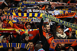 APOEL Nicosia's fans show their support in the stands