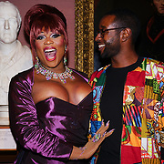 Peppermint presenters of the Gay Times Honours on 18th November 2017 at the National Portrait Gallery in London, UK.