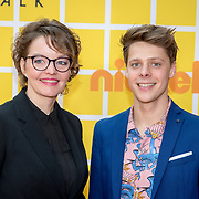 NLD/Amsterdam/20180325 - Nickelodeon Kid's Choice Awards 2018, Sanne Wallis de Vries en Leendert de Ridder