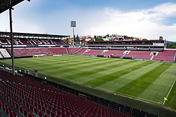 July 23, 2018 - Cluj, Romania - 180723 General view of Stadionul Dr. Constantin Radulescu during a press conference and practice ahead the UEFA Champions League qualifying match between Cluj and MalmÅ¡ FF on July 23, 2018 in Cluj..Photo: Ludvig Thunman / BILDBYRN / kod LT / 35509 (Credit Image: © Ludvig Thunman/Bildbyran via ZUMA Press)