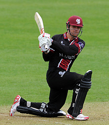 Somerset's James Hildreth - Photo mandatory by-line: Harry Trump/JMP - Mobile: 07966 386802 - 30/03/15 - SPORT - CRICKET - Pre Season Fixture - T20 - Somerset v Gloucestershire - The County Ground, Somerset, England.