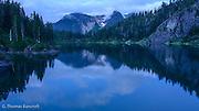 Twilight on Watson Lake.