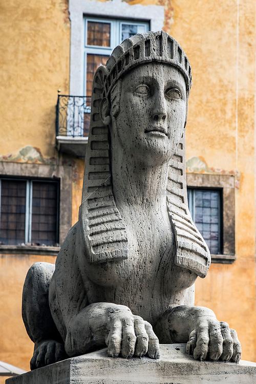 Sphinx, Passeig des Born, Palma de Mallorca, Majorca, Spain.