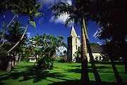 Wananalua Church, 1838, Hana, Maui, Hawaii, USA<br />