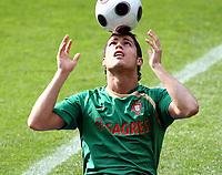 GEPA-0806081272 - NEUCHATEL,SCHWEIZ,08.JUN.08 - FUSSBALL - UEFA Europameisterschaft, EURO 2008, Nationalteam Portugal, Training. Bild zeigt Cristiano Ronaldo (POR).<br />Foto: GEPA pictures/ Walter Luger