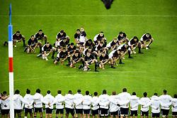 November 11, 2017 - St Denis, France, France - Haka des joueurs de la Nouvelle Zelande (Credit Image: © Panoramic via ZUMA Press)