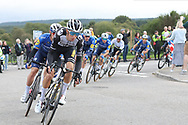 George Bennett of Team Jumbo Vista during Stage 8 of the AJ Bell Tour of Britain 2021 between Stonehaven to Aberdeen, , Scotland on 12 September 2021.