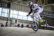 #519 (POINTIN Hugo) FRA at Round 2 of the 2019 UCI BMX Supercross World Cup in Manchester, Great Britain
