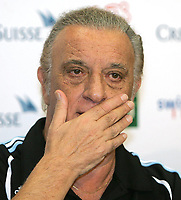 Fotball<br /> 02.06.2007<br /> Privatlandskamp<br /> Sveits v Argentina<br /> Foto: imago/Digitalsport<br /> NORWAY ONLY<br /> <br /> Nationaltrainer Alfio Basile (Argentinien)