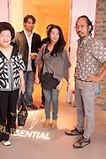 POPPY HADIMAN; Ay Tjoe Christine: Angki Purbandono, Indonesian Eye Contemporary Art Exhibition Reception, Saatchi Gallery. London. 9 September 2011. <br /> <br />  , -DO NOT ARCHIVE-© Copyright Photograph by Dafydd Jones. 248 Clapham Rd. London SW9 0PZ. Tel 0207 820 0771. www.dafjones.com.
