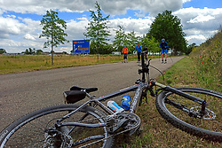 A day of cycling around Utrecht and Nijkerk, skate and roller training for the Vasaloppet on June 6, 2020 in Nijkerk