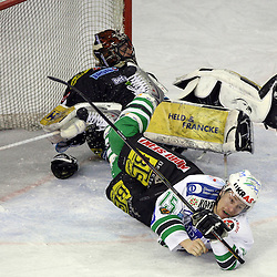 20080228: Ice Hockey - EBEL league semifinals, ZM Olimpija vs Linz