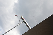 20.06.15. Copenhagen, Denmark.Blake Aldridge jump from the 28 metre platform atop the Copenhagen Opera House.Photo:© Ricardo Ramirez