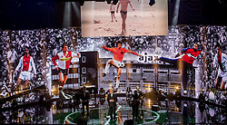 21-12-2016 NED: Sportgala NOC * NSF 2016, Amsterdam<br /> In de Amsterdamse RAI vindt het traditionele NOC NSF Sportgala weer plaats / Eerbetoon en staande ovatie voor Johan Cruijff - Jan Mulder