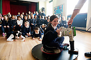 12/11/2018 Repro free: Galway Science and Technology Festival, the largest science event in Ireland, runs from 11-25 November featuring exciting talks, workshops and special events. Full programme at GalwayScience.ie. <br /> <br /> Mercy Primary school's Lauren Noonan 4th hover crafting xperimental style Photo:Andrew Downes, Xposure.