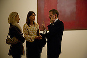 ERICA BOLTON; SAMANTHA CAMERON;  SIR NICHOLAS SEROTA; Mark Rothko private view. Tate Modern. 24 September 2008 *** Local Caption *** -DO NOT ARCHIVE-© Copyright Photograph by Dafydd Jones. 248 Clapham Rd. London SW9 0PZ. Tel 0207 820 0771. www.dafjones.com.