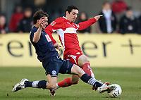 Fotball<br /> Tyskland<br /> Foto: Witters/Digitalsport<br /> NORWAY ONLY<br /> <br /> 09.02.2008<br /> <br /> v.l. Rudolf Skacel, Roberto Hilbert VFB<br /> Bundesliga VfB Stuttgart - Hertha BSC Berlin