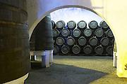 old vats and barrels ferreira port lodge vila nova de gaia porto portugal