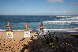 Warning Signs, Sunset Beach