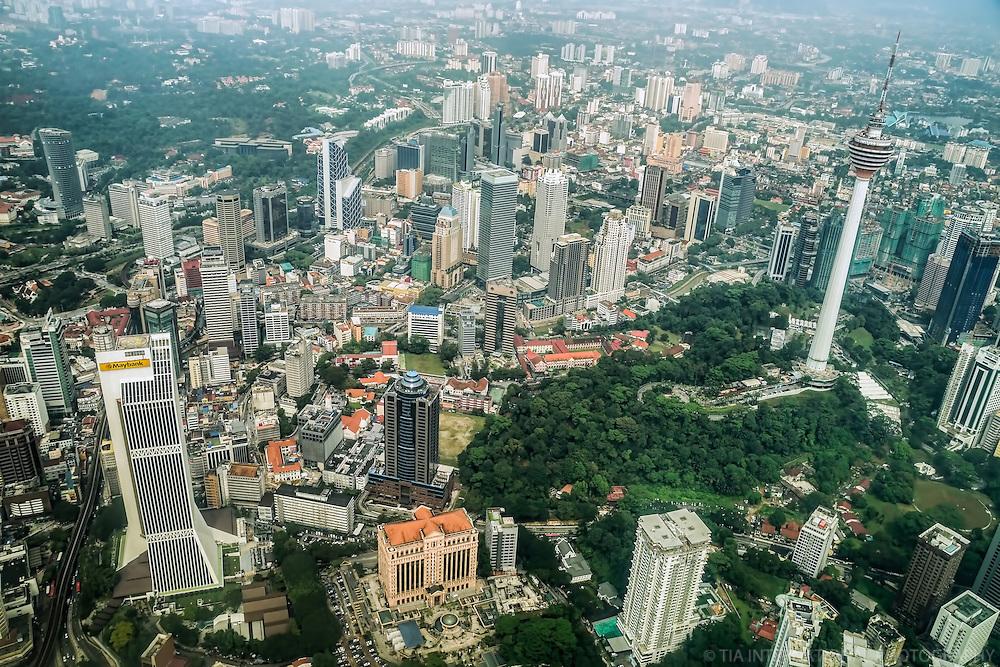 Maybank Tower & KL Tower, Bukit Nanas