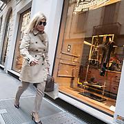 Il FuoriSalone 2010 nelle vie di centrali Milano, Via Sant'Andrea<br /> <br /> Street life in Sant'Andrea street during the International Furniture show in Milan