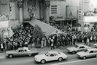 "1977 50th Anniversary re-premiere of Cecil B DeMille's 1927 movie ""King of Kings"" at Mann's Chinese Theater"