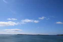 Caldey Island, Tenby, Pembrokeshire South Wales July 2021. Monastery and popular day trip destination