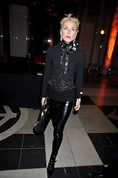 DAPHNE GUINNESS at Hats - an antology of Stephen Jones held at the V&A, London on 23rd February 2009.