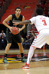 18 March 2015:   Jordan Fouse during an NIT men's basketball game between the Green Bay Phoenix and the Illinois State Redbirds at Redbird Arena in Normal Illinois