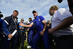 September 30, 2018 - Guyancourt, France, France - joie de Ian Poulter of England  (Credit Image: © Panoramic via ZUMA Press)