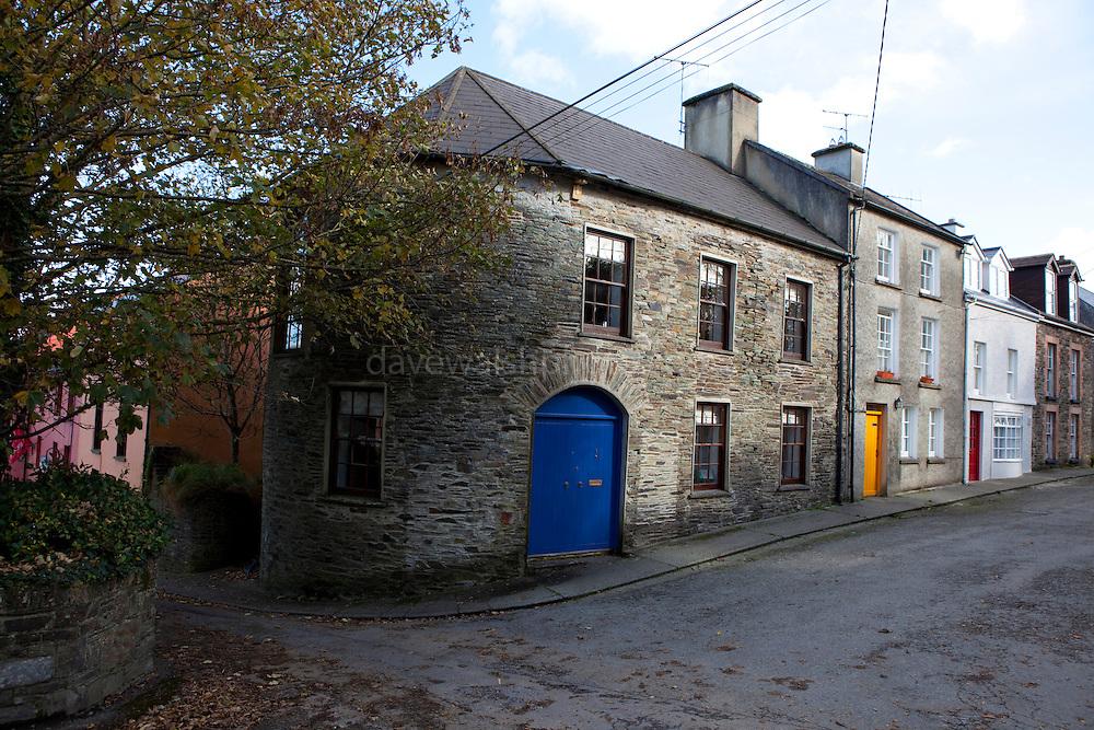 Houses in Castletownshend, Co. Cork, Ireland