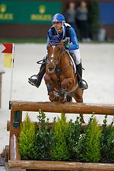 Laghouag Karim Florent, FRA, Punch de L'Esques<br /> Indoor Cross Country<br /> CHI de Genève 2017<br /> © Dirk Caremans<br /> 09/12/2017