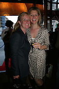 Caroline Mackrill and Naomi Hancock , PJ's Annual Polo Party . Annual Pre-Polo party that celebrates the start of the 2007 Polo season.  PJ's Bar & Grill, 52 Fulham Road, London, SW3. 14 May 2007. <br /> -DO NOT ARCHIVE-© Copyright Photograph by Dafydd Jones. 248 Clapham Rd. London SW9 0PZ. Tel 0207 820 0771. www.dafjones.com.