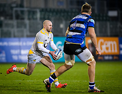 Dan Robson of Wasps carries - Mandatory by-line: Andy Watts/JMP - 08/01/2021 - RUGBY - Recreation Ground - Bath, England - Bath Rugby v Wasps - Gallagher Premiership Rugby