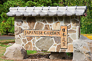 The Japanese Garden in Washington Park, Portland, Oregon