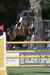 Skalli Fanny (FRA) - Candy<br /> FEI European Jumping Championship for young riders <br /> Arezzo 2014<br /> © Hippo Foto - Stefano Secchi