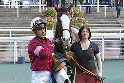 October 27, 2017 - Auteuil, France, France - Course 3 - Crapule - Kevin Nabet (Credit Image: © Panoramic via ZUMA Press)