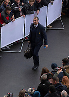 Australia's Head Coach Michael Cheika arrives at the ground<br /> <br /> Photographer Bob Bradford/CameraSport<br /> <br /> 2018 Quilter Internationals - England v Australia - Saturday 24th November 2018 - Twickenham - London<br /> <br /> World Copyright © 2018 CameraSport. All rights reserved. 43 Linden Ave. Countesthorpe. Leicester. England. LE8 5PG - Tel: +44 (0) 116 277 4147 - admin@camerasport.com - www.camerasport.com