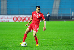 March 22, 2019 - Rades, Tunisia - Amine Ben Amor(14) of Tunisia during the Match Tunisia vs Eswatini at the Rades Olympic stadium in the last qualifying round of the 2019 African Nations Cup finals vs. Tun vs Eswatini 4/0. (Credit Image: © Chokri Mahjoub/ZUMA Wire)