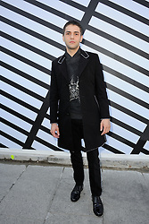 Xavier Dolan arriving at the Vuitton show as a part of Paris Fashion Week Ready to Wear Spring/Summer 2017 on Octobre 05, 2016 in Paris, France. Photo by Alban Wyters/ABACAPRESS.COM