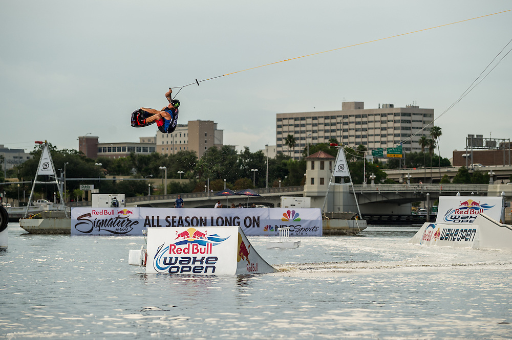 Shawn Watson performs  at RedBull Wake Open in Tampa, Florida on July 13th, 2012.