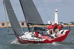 Brewin Dolphin Scottish Series 2014, the start of an International IRC competition racing on the Solent off Cowes and hosted by the RORC.<br /> <br /> Ker 40, Team Ireland, Catapult<br /> <br /> Credit.  Marc Turner