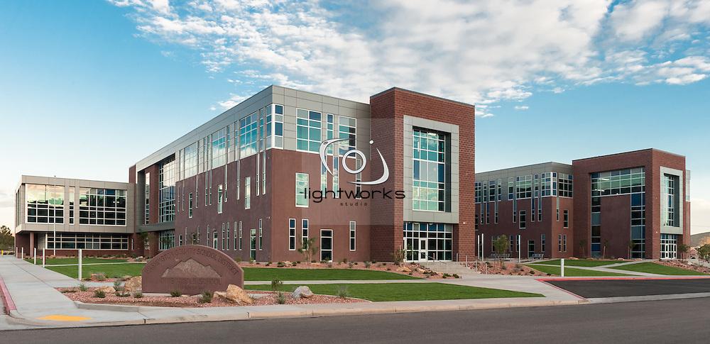 Dixie Middle School - NWL Architects St. George, Utah.