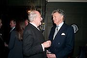 CLAUS VON BULOW; WILLIAM SHAWCROSS, , Graydon and Anna Carter host a lunch for Carolina Herrera to celebrate the ipening of her new shop on Mount St. .The Connaught. London. 20 January 2010