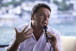 August 2, 2017 - Palermo, Italy - Matteo Renzi, leader of the Democratic Party and former Italian Premier, presents his latest book ''Avanti'' in Mondello (Pa) (Credit Image: © Antonio Melita/Pacific Press via ZUMA Wire)