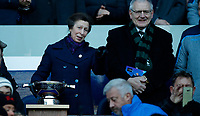 Rugby Union - 2019 Guinness Six Nations Championship - Scotland vs. Ireland<br /> <br /> HRH Princess Royal tells Rory Best of Ireland to come and collect the trophy at Murrayfield <br /> <br /> COLORSPORT/LYNNE CAMERON