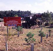 A3AAN5 Wangford gravel quarry Suffolk England